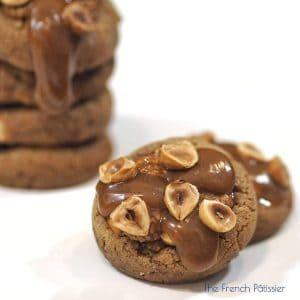 Cookies noisette caramel