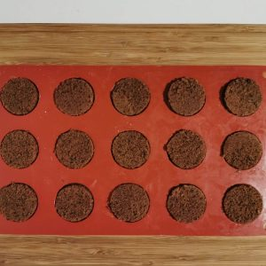 Moulage namelaka et cake pour insert Encuentr'oeuf